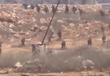 هروب جماعي لقوات الاسد