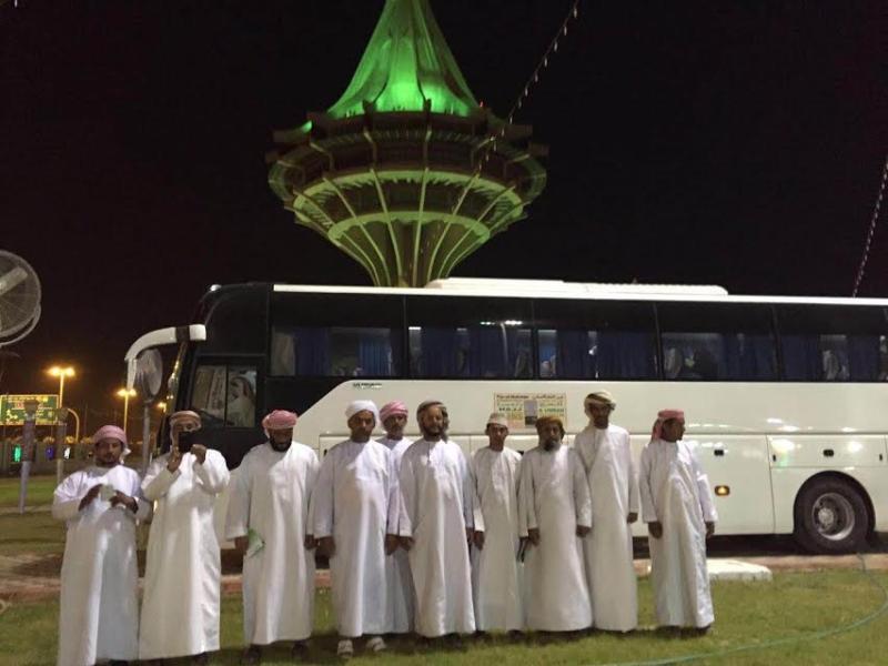 هكذا استعدت مدينة الحجاج بالخرج لاستقبال أول فوج من دول الخليج 3
