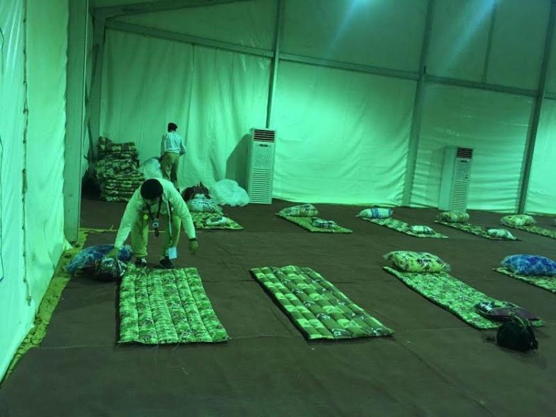 هكذا استعدت مدينة الحجاج بالخرج لاستقبال أول فوج من دول الخليج 7