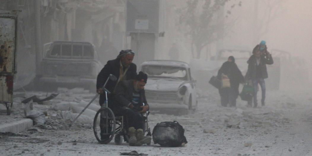 بان كي مون يجدد قلقه : نظام الأسد يرتكب فظائع في حلب