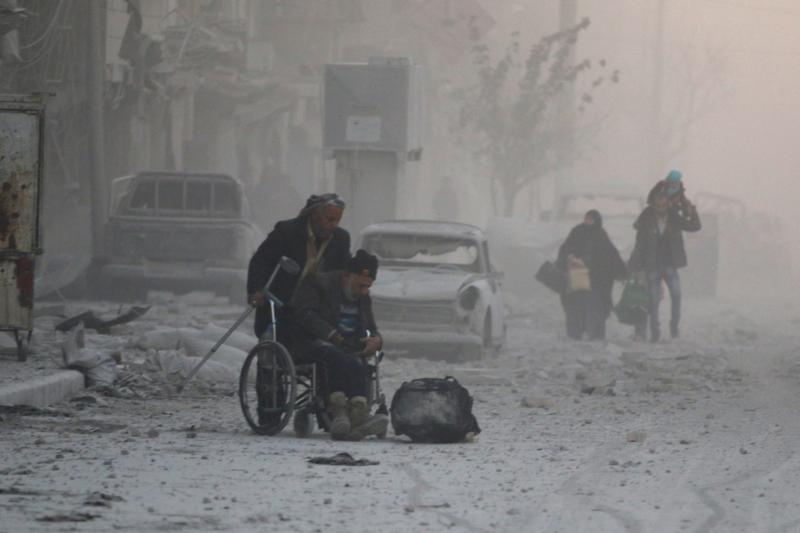 بان كي مون يجدد قلقه : نظام الأسد يرتكب فظائع في حلب - المواطن