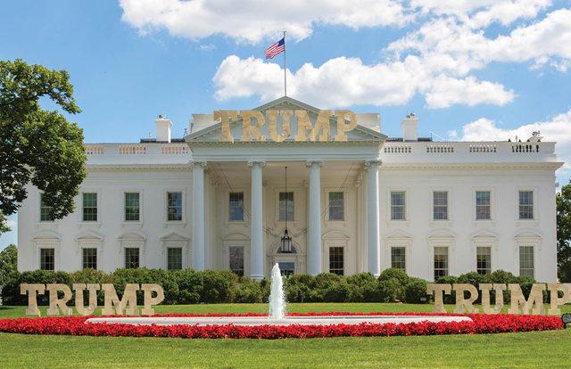 هكذا تخيل البعض البيت الأبيض في عهد ترامب 6