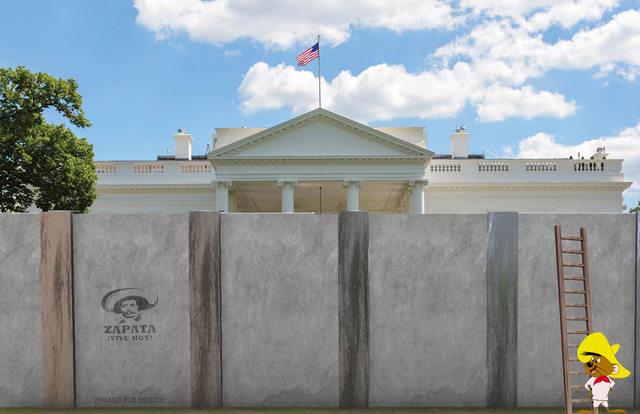 هكذا تخيل البعض البيت الأبيض في عهد ترامب 7