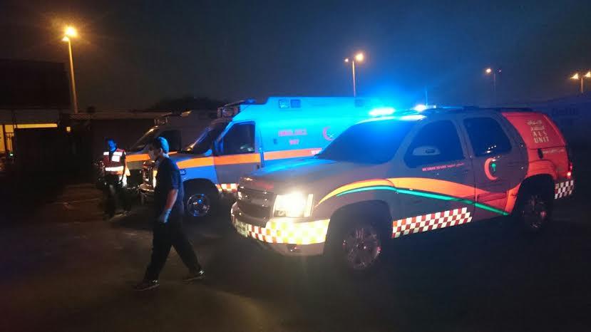 9 إصابات خطيرة ومتوسطة في تصادم بـ #الخبر - المواطن