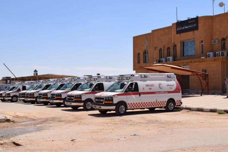 الصحّة: 177 سيارة إسعاف لخدمة الحجيج بالمشاعر المقدسة