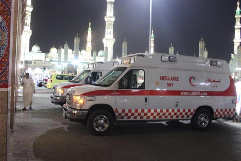 هلال المدينة يُباشِر 5472 بلاغاً خلال 20 يوماً من رمضان (1) 