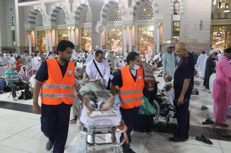 هلال المدينة يُباشِر 5472 بلاغاً خلال 20 يوماً من رمضان (332712743) 