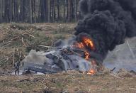 مقتل طيار وإصابة آخر بعد تحطم طائرة هيلكوبتر في عرض جوي روسي