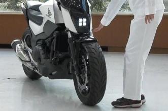 هوندا تبتكر دراجة نارية ذاتية التوازن