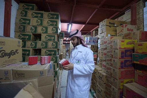 هيئة الغذاء والدواء تصادر مستحضرات طبية وكبسولات وأقراص مغشوشة في حفرالباطن (2)