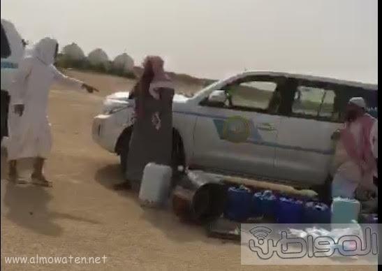 هيئة رفحاء تضبط مروج ومصنعي خمر غرب المحافظة1