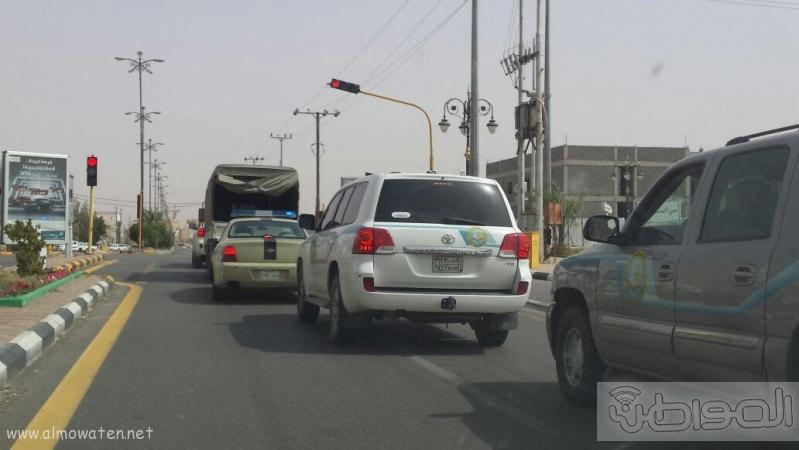 هيئة رفحاء تضبط مروج ومصنعي خمر غرب المحافظة3