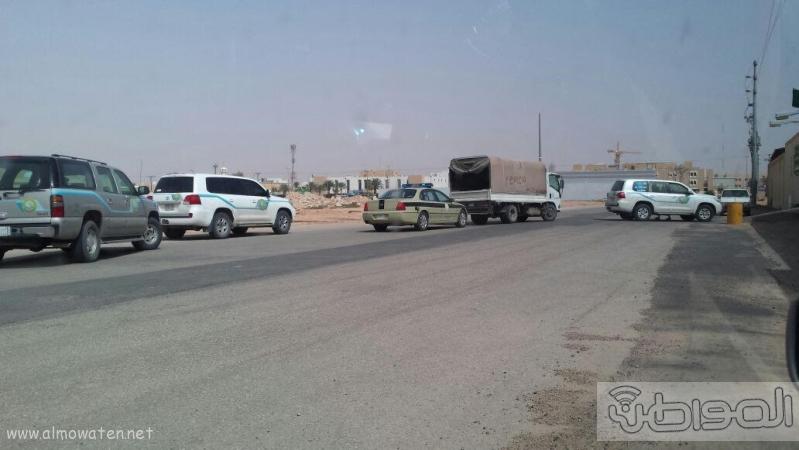 هيئة رفحاء تضبط مروج ومصنعي خمر غرب المحافظة4