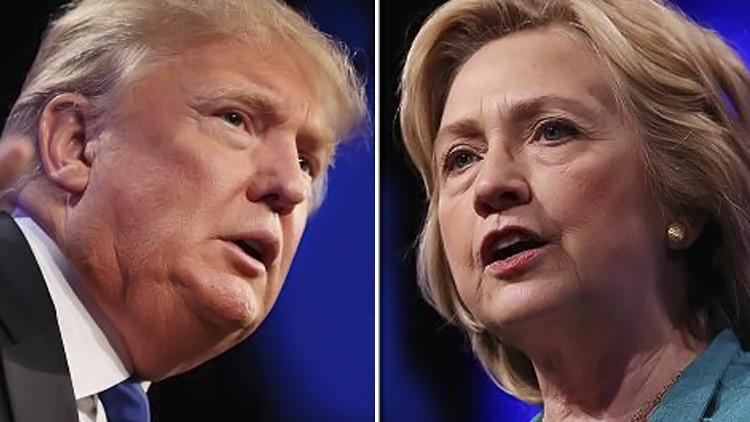 كم أنفق ترامب وكلينتون في سباق الرئاسة الأمريكي!
