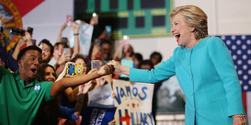 هيلاري كلينتون تحتفل بعيد ميلادها2