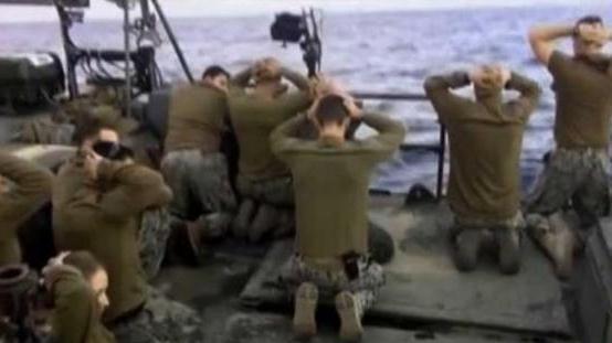 واشنطن غاضبة بشأن صور للبحارة الأمريكيين اثناء احتجازهم في إيران