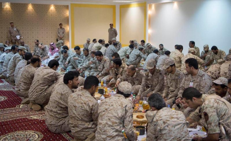 وجبة افطار ولي ولي العهد