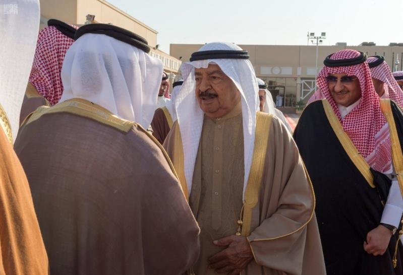 وداع رئيس وزراء البحرين 1