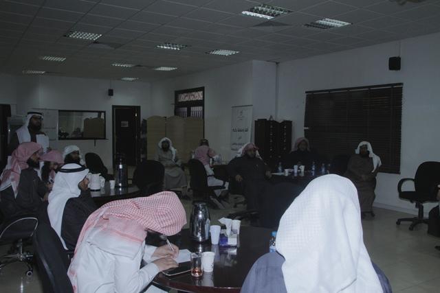 ورشة عمل لدراسة البيئة في ادارة الشؤون التعليمية بتحفيظ الرياض (1)