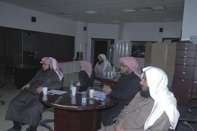 ورشة عمل لدراسة البيئة في ادارة الشؤون التعليمية بتحفيظ الرياض (3)