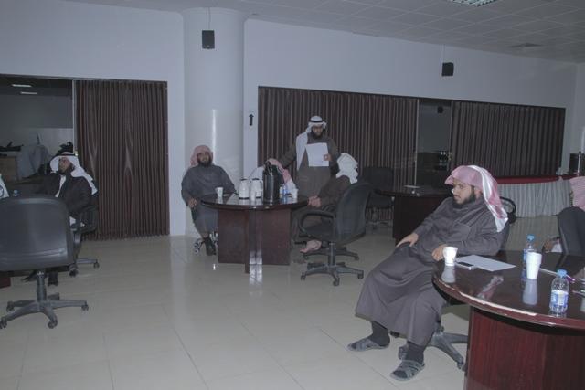 ورشة عمل لدراسة البيئة في ادارة الشؤون التعليمية بتحفيظ الرياض (4)