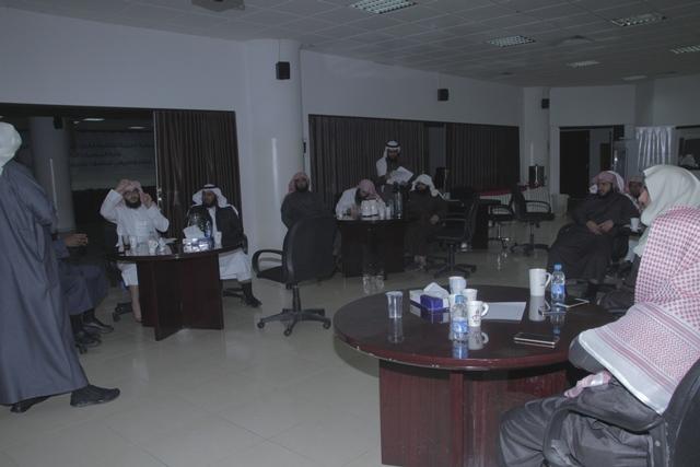 ورشة عمل لدراسة البيئة في ادارة الشؤون التعليمية بتحفيظ الرياض (5)