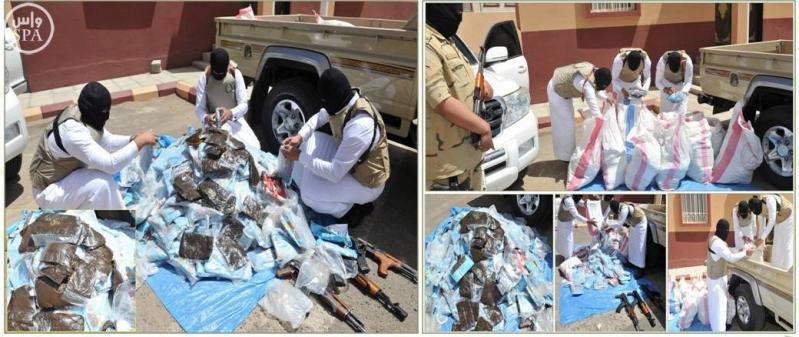 وزارة الداخلية تصدر بياناً حول مهام رجال الأمن في مكافحة جرائم تهريب وترويج المخدرات والقبض على المتورطين في ذلك3