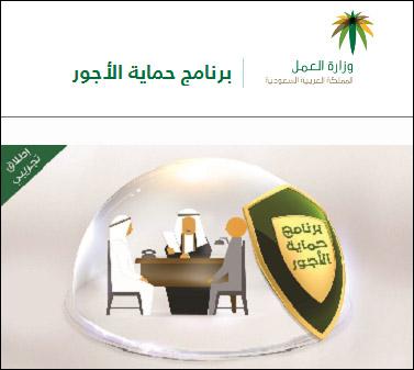 وزارة العمل - برنامج حماية الاجور
