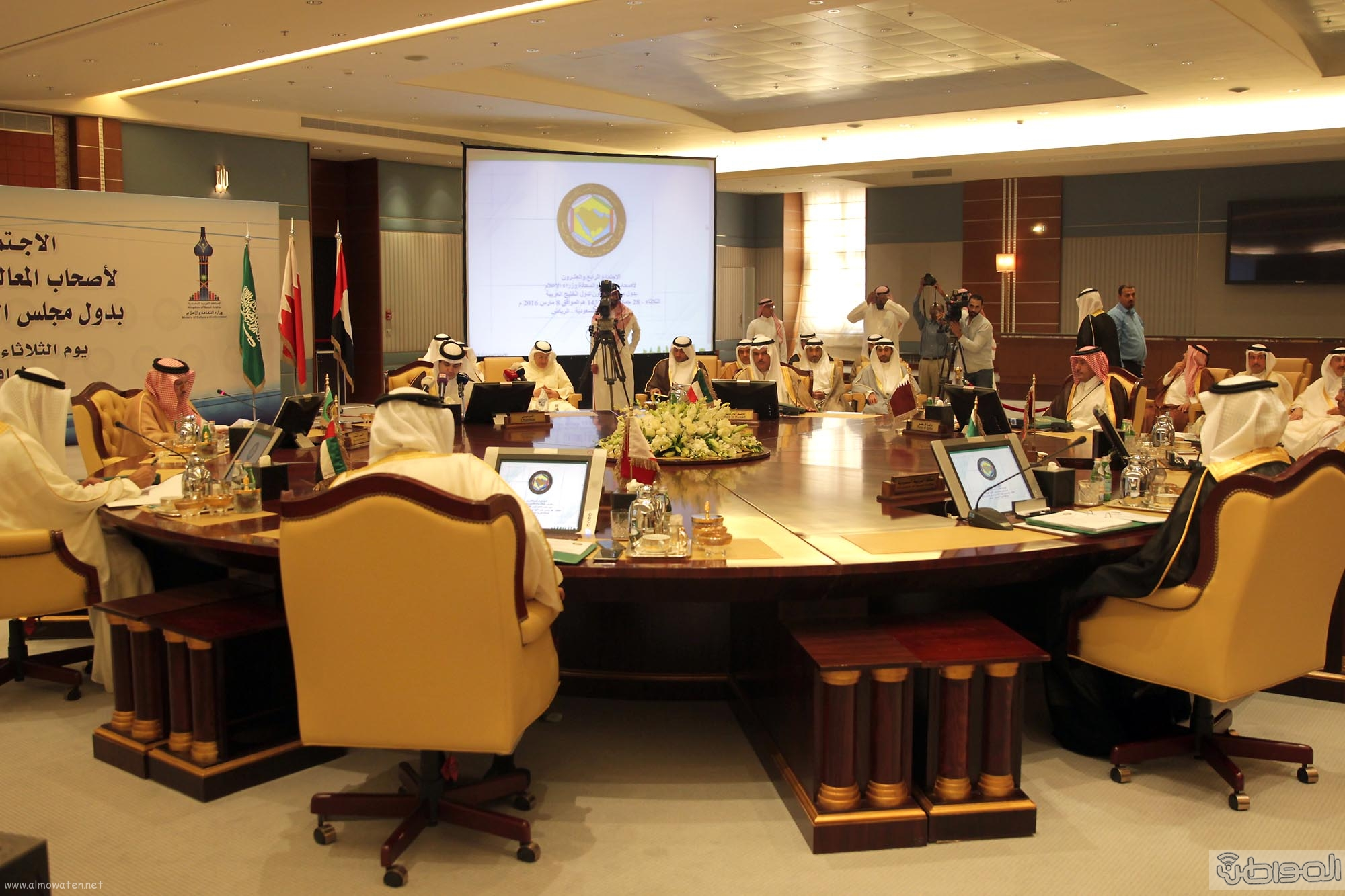 وزراء الاعلام الخليجي (4)
