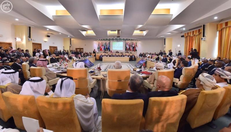 وزراء الداخلية العرب يعقدون اجتماعهم 3