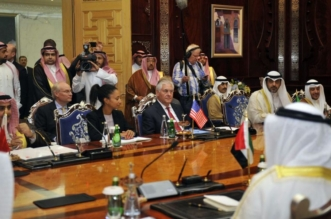 وزراء خارجية الدول الداعية لمكافحة الارهاب في جدة 1