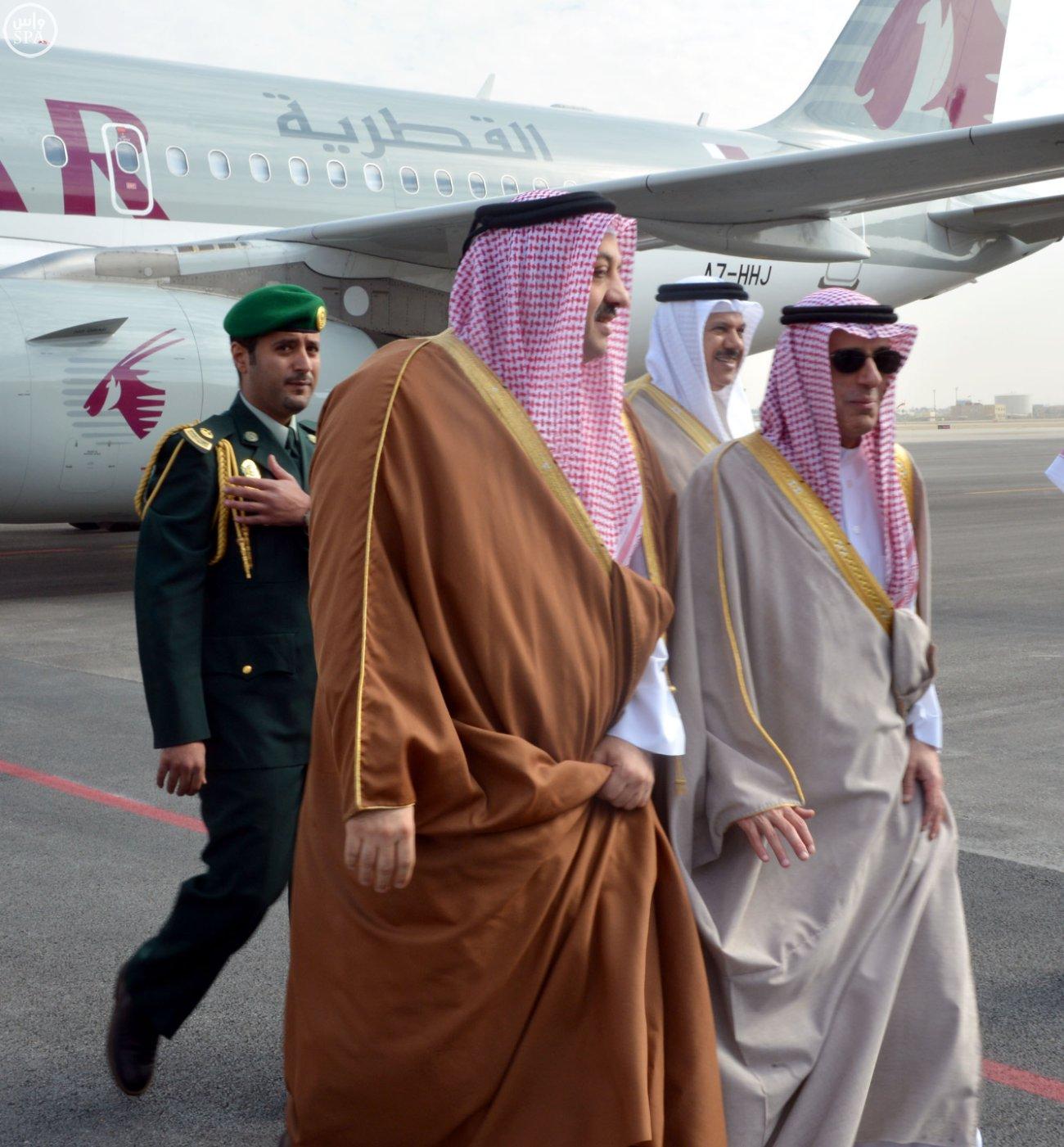 وزراء خارجية دول مجلس التعاون الخليجي يعقدون اجتماعاً مشتركاً مع وزير الخارجية الأمريكي3