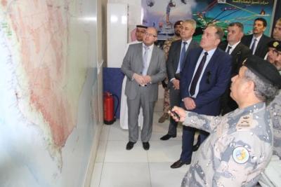 وزير الأمن البوسني يزور حرس الحدود بمنطقة مكة المكرمة1