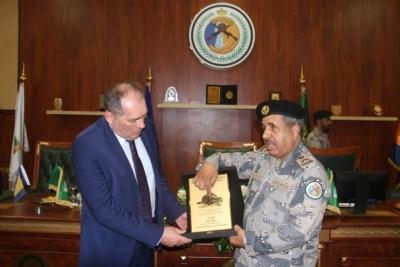 وزير الأمن البوسني يزور حرس الحدود بمنطقة مكة المكرمة2