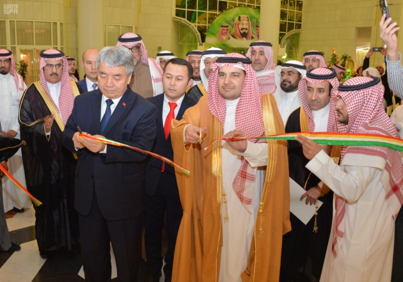 وزير الثقافة والإعلام يفتتح فعاليات الأيام الثقافية لجمهورية قيرغيزستان في المملكة