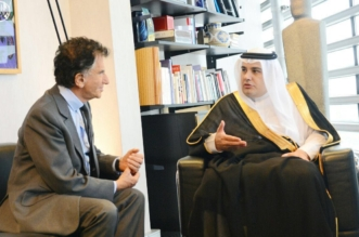 وزير الثقافة والإعلام يلتقي رئيس معهد العالم العربي بباريس - المواطن