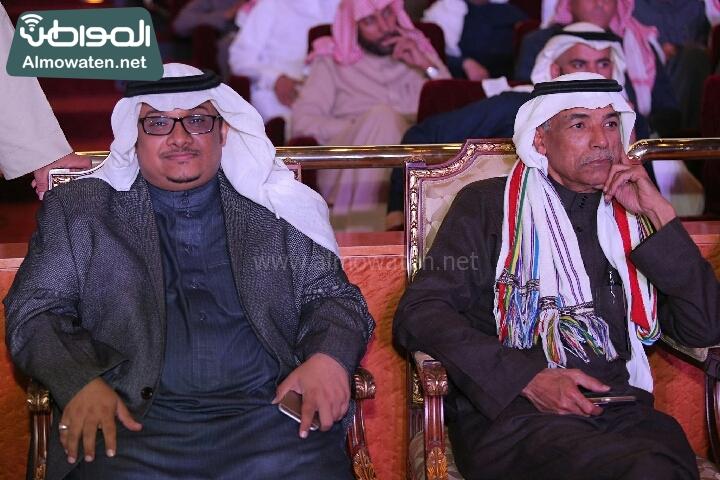 وزير الثقافة والاعلام يرعى حفل الادباء السعوديين (138791228)  