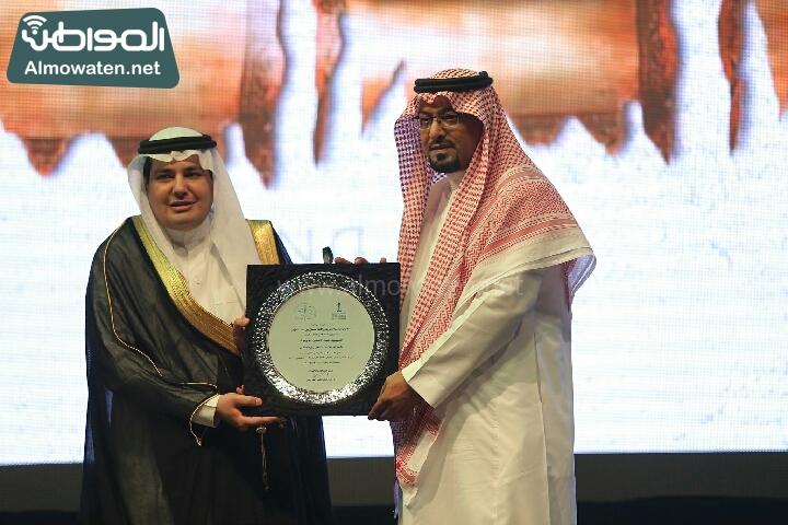 وزير الثقافة والاعلام يرعى حفل الادباء السعوديين (138791236)  