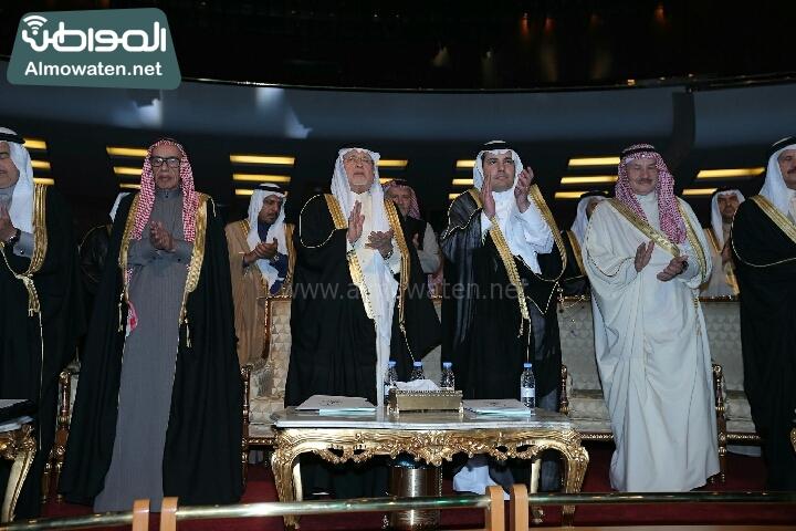 وزير الثقافة والاعلام يرعى حفل الادباء السعوديين (138791240)  