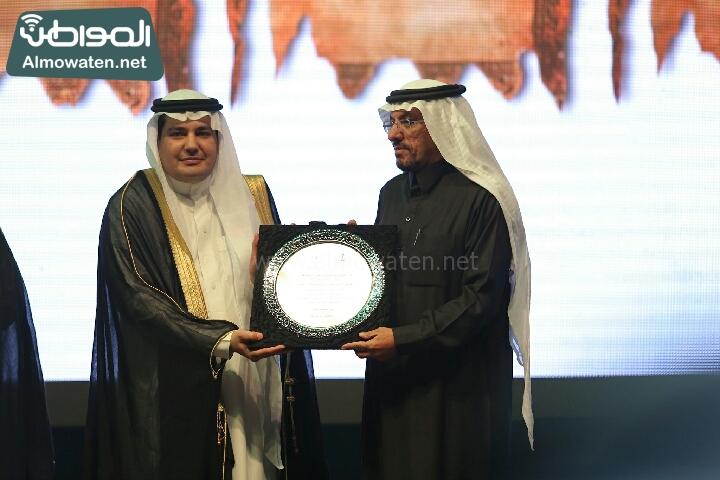 وزير الثقافة والاعلام يرعى حفل الادباء السعوديين (138791252)  