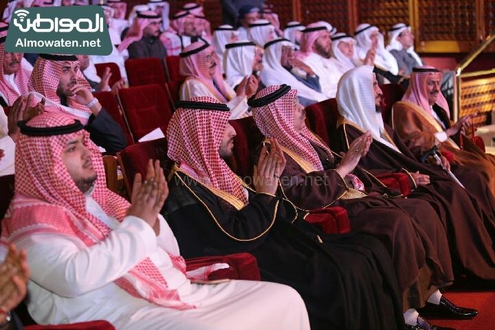 وزير الثقافة والاعلام يرعى حفل الادباء السعوديين (138791256)  
