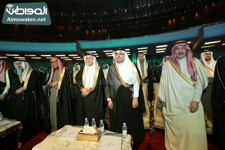 وزير الثقافة والاعلام يرعى حفل الادباء السعوديين (138791261)  