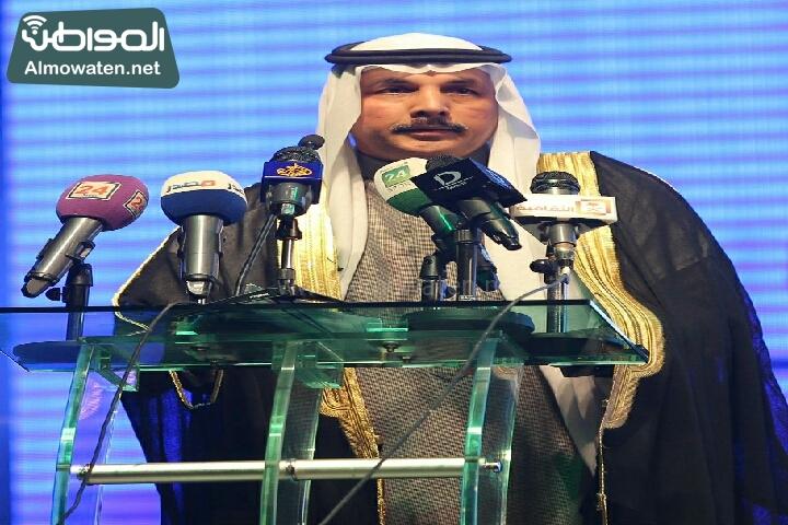 وزير الثقافة والاعلام يرعى حفل الادباء السعوديين (138791265)  