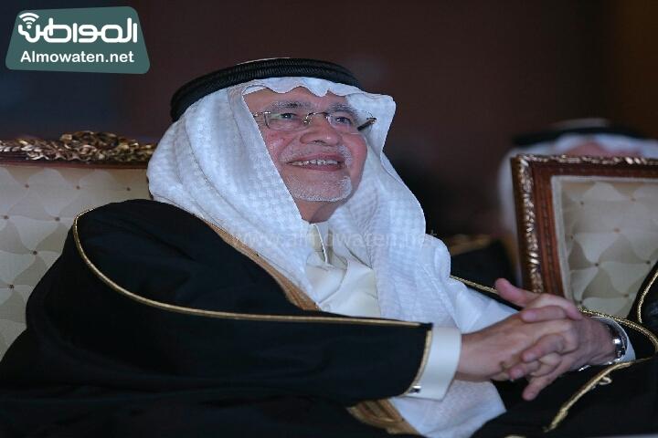 وزير الثقافة والاعلام يرعى حفل الادباء السعوديين (138791267)  