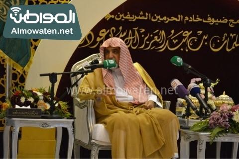 وزير الحج يلتقي ضيوف خاد م الحرمين (11)