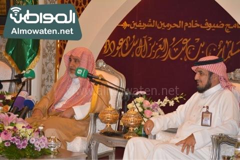 وزير الحج يلتقي ضيوف خاد م الحرمين (12)