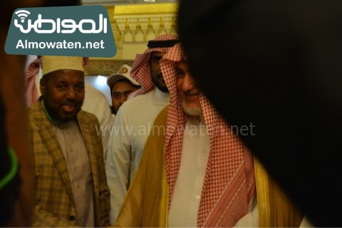 وزير الحج يلتقي ضيوف خاد م الحرمين (20)
