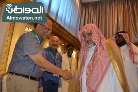 وزير الحج يلتقي ضيوف خاد م الحرمين (3)
