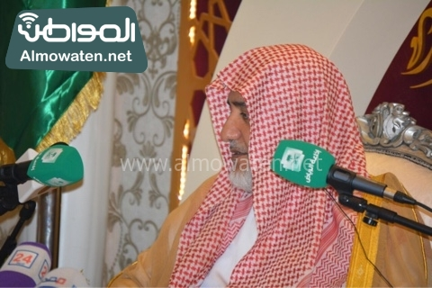 وزير الحج يلتقي ضيوف خاد م الحرمين (8)