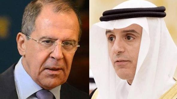 وزير الخارجية السعودي -ووزير الخارجية الروسي